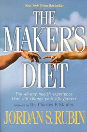 The Maker&#39;s Diet by Jordan Rubin
