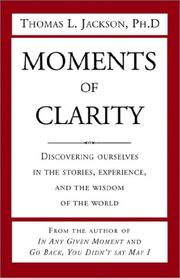 Moments of Clarity PDF