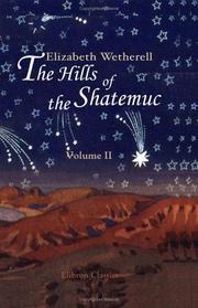 The Hills of the Shatemuc PDF