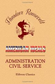 American Ideals and Administration Civil Service PDF