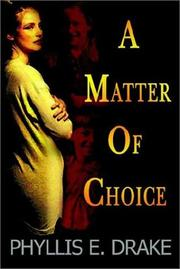 A Matter of Choice PDF