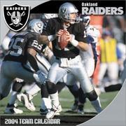 Oakland Raiders 2004 16-month wall calendar PDF