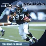 Seattle Seahawks 2004 16-month wall calendar PDF