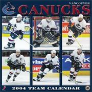 Vancouver Canucks 2004 16-month wall calendar PDF