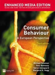 Consumer behaviour by Michael R. Solomon