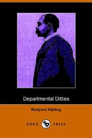 Departmental ditties and other verses by Rudyard Kipling