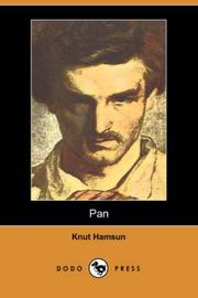 Cover of: Pan by Knut Hamsun
