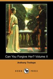 Can You Forgive Her?, Volume II PDF