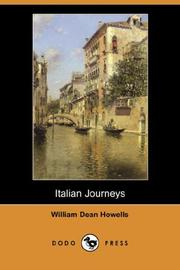 Cover of: Italian Journeys (Dodo Press) by William Dean Howells