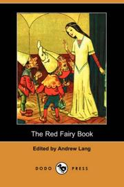 Cover of: The Red Fairy Book (Dodo Press) by Andrew Lang