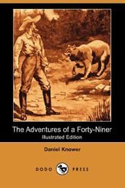The adventures of a forty-niner PDF