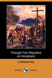 Through Five Republics on Horseback PDF