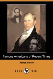 Famous Americans of Recent Times PDF