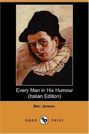 Every Man in His Humour PDF