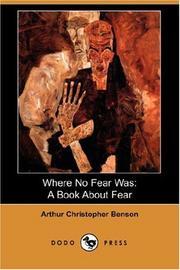 Where No Fear Was PDF