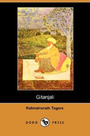 Cover of: Gitanjali (Dodo Press) by Rabindranath Tagore