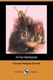 A Fair Barbarian PDF