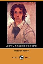 Japhet in search of a father by Frederick Marryat