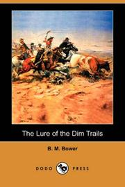 The Lure of the Dim Trails PDF