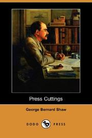 Cover of: Press Cuttings (Dodo Press) by George Bernard Shaw