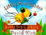 Little Miss Spider at Sunny Patch School PDF