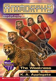 Cover of: The weakness