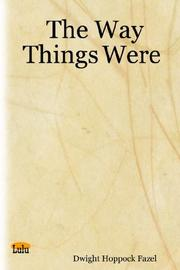 The Way Things Were PDF