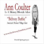 Ann Coulter Is A Skinny Blonde idiot PDF