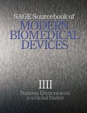 SAGE Sourcebook of Modern Biomedical Devices PDF
