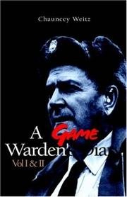 A Game Warden's Diary 1933-1965 PDF