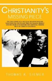 Christianity's Missing Piece PDF