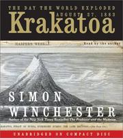 Cover of: Krakatoa CD: The Day the World Exploded by Simon Winchester