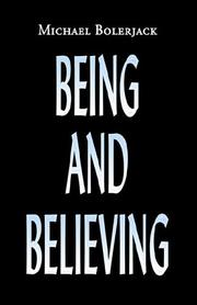 Being And Believing PDF