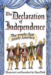 Cover of: The Declaration of Independence by United States