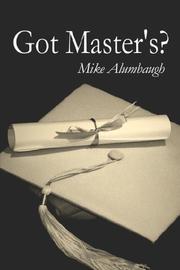 Got Master's? PDF