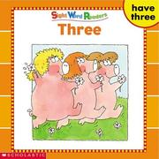 THREE (Sight Word Library) PDF