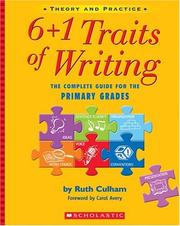 6 + 1 traits of writing by Ruth Culham