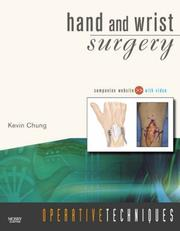 Operative Techniques: Hand and Wrist Surgery PDF