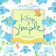 Keep It Simple 2008 Mini Calendar PDF