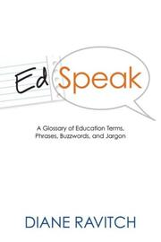 Edspeak by Diane Ravitch