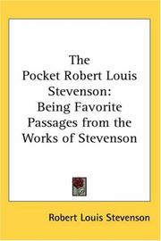 The Pocket Robert Louis Stevenson PDF