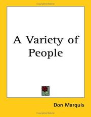 A variety of people PDF