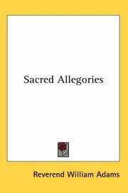 Sacred Allegories PDF