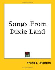 Songs from Dixie Land PDF
