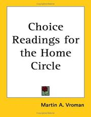 Choice Readings for the Home Circle PDF