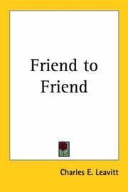 Friend to Friend PDF