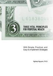 Three Vital Principles For Perpetual Wealth PDF