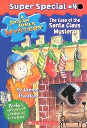 Cover of: Case Of The Santa Claus Mystery by James Preller