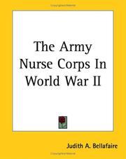 The Army Nurse Corps in World War II PDF