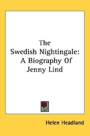 The Swedish Nightingale by Helen Headland